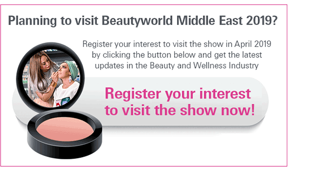 Register your interest to visit Beautyworld Middle East 2019