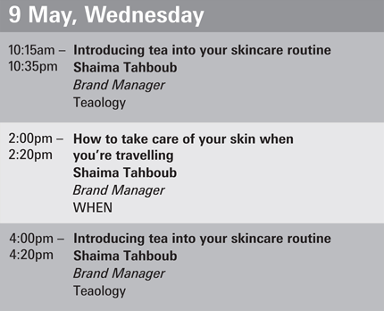 Beautyworld Middle East-Quintessence Seminars 9 May