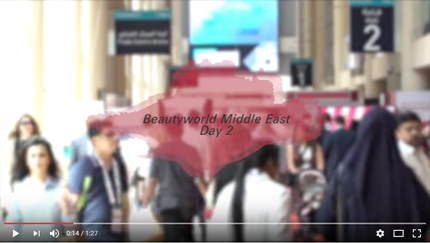 Beautyworld Middle East 2017-Day 2 Video 2017