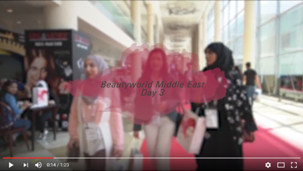 Beautyworld Middle East 2017-Day 3 Video 2017