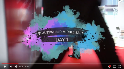 Beautyworld Middle East-Day 1 Video 2018