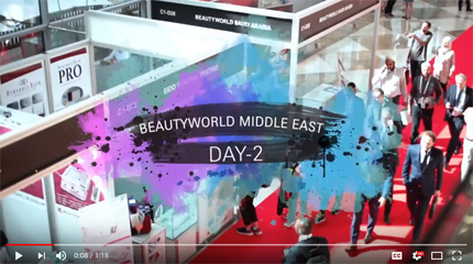 Beautyworld Middle East-Day 2 Video 2018