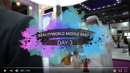 Beautyworld Middle East-Day 3 Video 2018